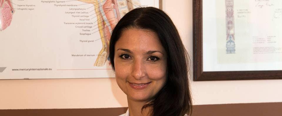 Silvia Spinelli medico foniatra Roma - Cento per Cento Musica