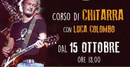 Inizio del Corso di Chitarra con Luca Colombo a Roma