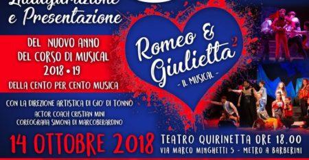 Saggio Romeo e Giulietta, regia di Giò Di Tonno – Cento per Cento Musica