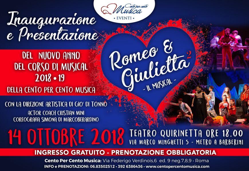 Saggio Romeo e Giulietta, regia di Giò Di Tonno - Cento per Cento Musica