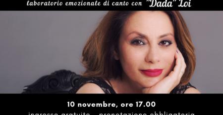L' emozione ha voce – Corso con Daniela Dada Loi