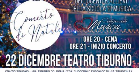 Concerto di Natale 2018 – Cento per Cento scuola di musica Roma