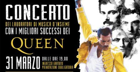 Locandina concerto laboratori musica d'insieme Cento per Cento musica Roma