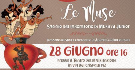 le muse, saggio di fine anno corso di musical junior – cento per cento musica roma