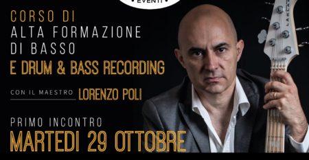 Presentazione corso Lorenzo Poli 29 Ottobre Cento per Cento Musica Roma